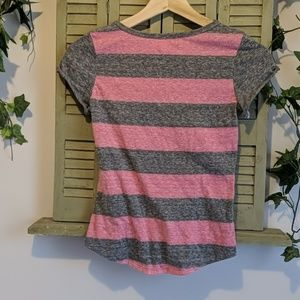 Derek Heart Shirts & Tops - Derek Heart girls striped tee shirt